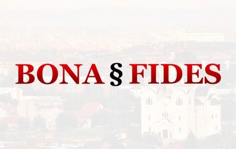 Bona Fides